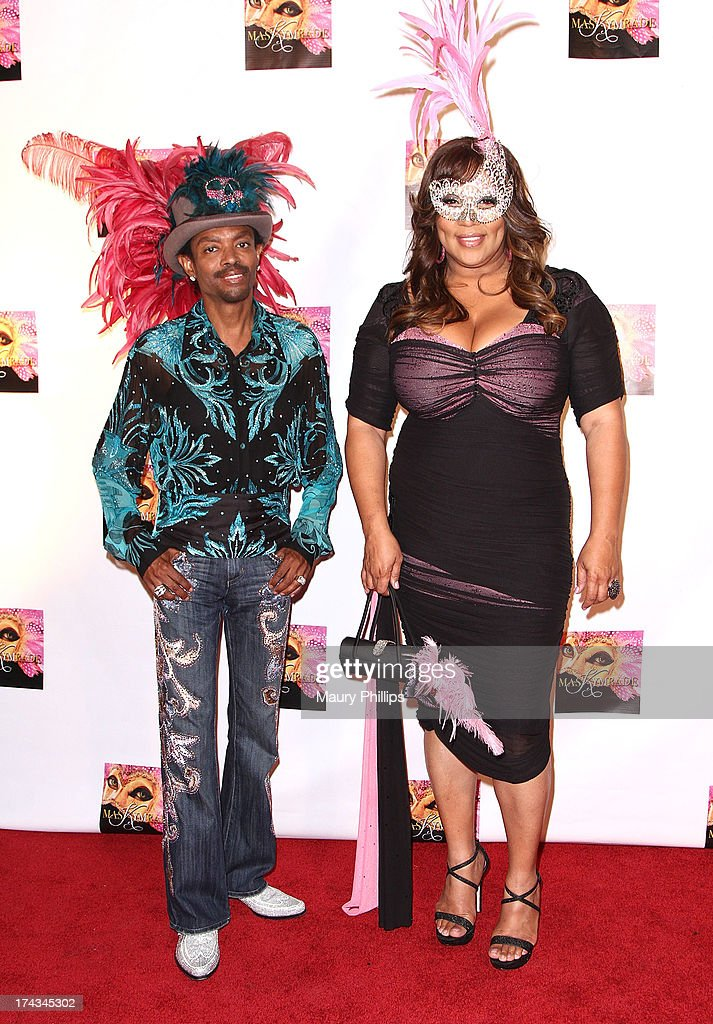 Wendell James and <a gi-track='captionPersonalityLinkClicked' href=/galleries/search?phrase=Kym+Whitley&family=editorial&specificpeople=242929 ng-click='$event.stopPropagation()'>Kym Whitley</a> arrive at <a gi-track='captionPersonalityLinkClicked' href=/galleries/search?phrase=Kym+Whitley&family=editorial&specificpeople=242929 ng-click='$event.stopPropagation()'>Kym Whitley</a>'s 40th Birthday Celebration at Rain Nightclub on July 23, 2013 in Studio City, California.