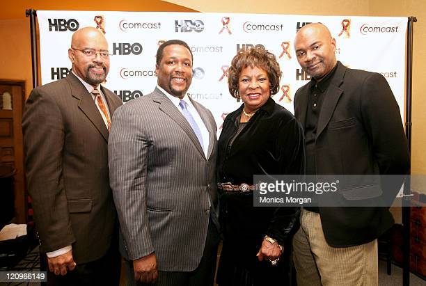Wendell Pierce Gerald Smith Comcast Director of Corporate Director Martha Reeves Detroit Council member and singer and Nelson George director and...