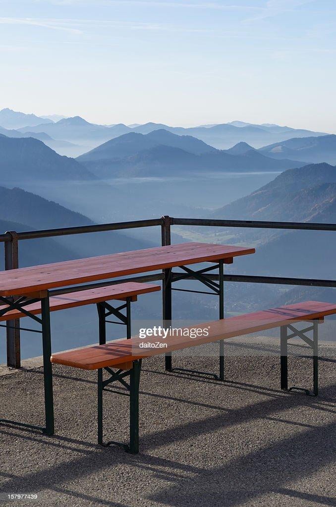 Wendelstein, Bavarian Alps : Stock Photo