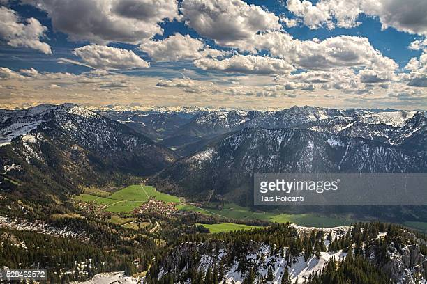 Wendelstein Mountain in Bayrischzell, Bavaria, Germany