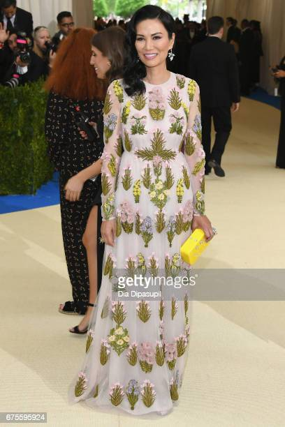 Wendi Deng Murdoch attends the 'Rei Kawakubo/Comme des Garcons Art Of The InBetween' Costume Institute Gala at Metropolitan Museum of Art on May 1...