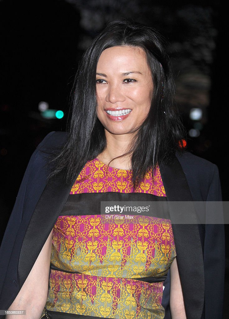 Wendi Deng Murdoch is seen on April 2, 2013 in New York City.