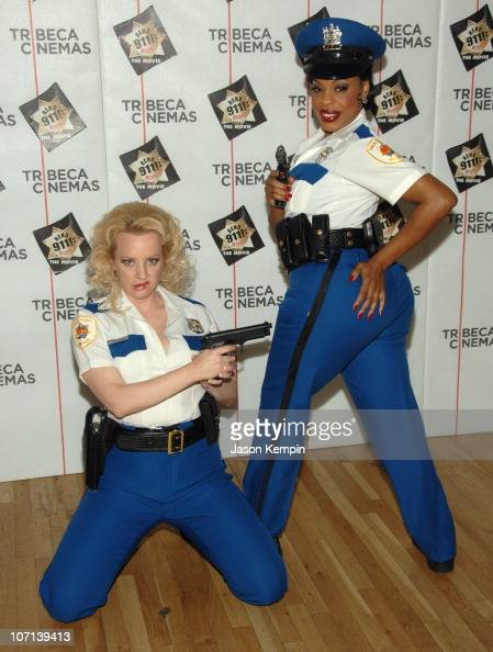 Wendi McLendon Covey and Niecy Nash during The Tribeca Cinema Series Hosts a Special Screening of 'Reno 911 Miami' February 21 2007 at Tribeca...