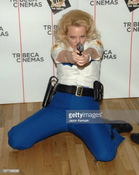 Wendi McLendon Covey during The Tribeca Cinema Series Hosts a Special Screening of 'Reno 911 Miami' February 21 2007 at Tribeca Cinemas Gallery in...
