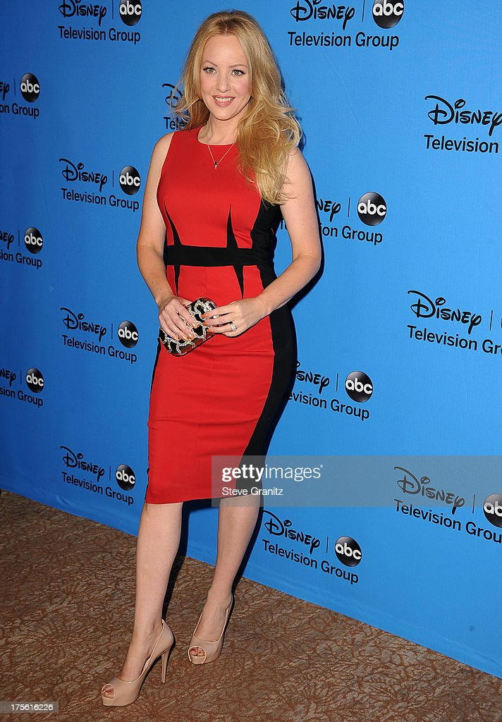 Wendi McLendon-Covey arrives at the 2013 Television Critics Association's Summer Press Tour - Disney/ABC Party at The Beverly Hilton Hotel on August 4, 2013 in Beverly Hills, California.