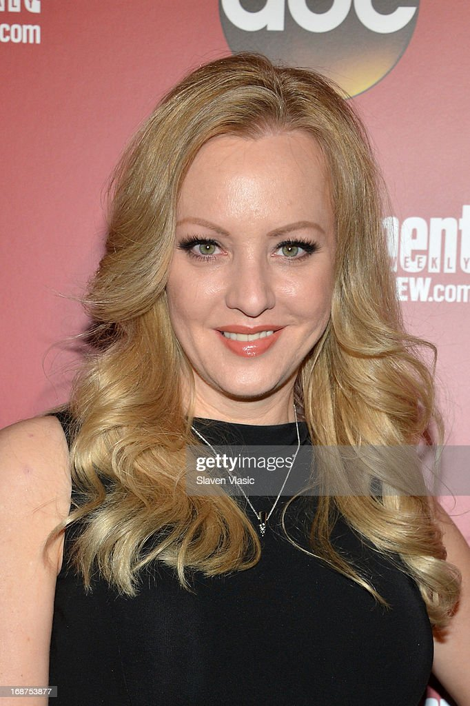 Wendi McLendon-Covey attends the Entertainment Weekly & ABC-TV Upfronts Party at The General on May 14, 2013 in New York City.