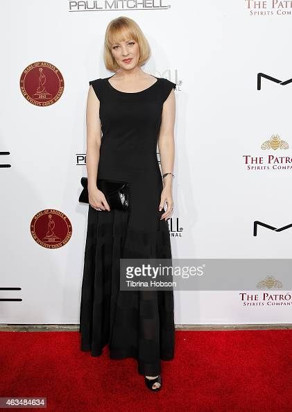 Wendi McLendonCovey attends the MakeUp Artists and Hair Stylists Guild Awards at Paramount Theater on the Paramount Studios lot on February 14 2015...