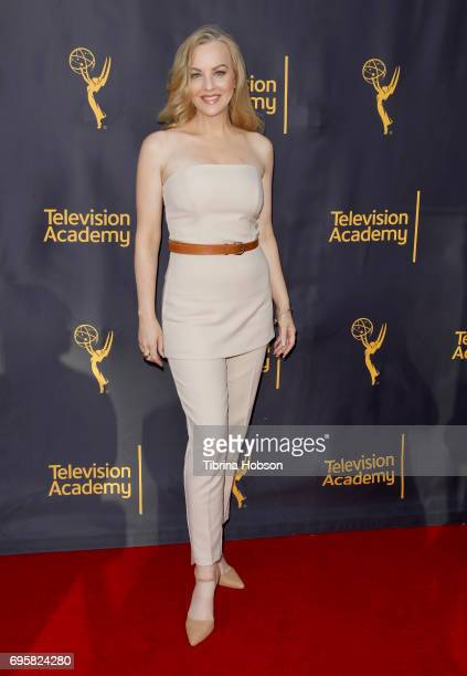 Wendi McLendonCovey attends the Television Academy's 'Story TV Adventures In Hollywood' at Wolf Theatre on June 13 2017 in North Hollywood California