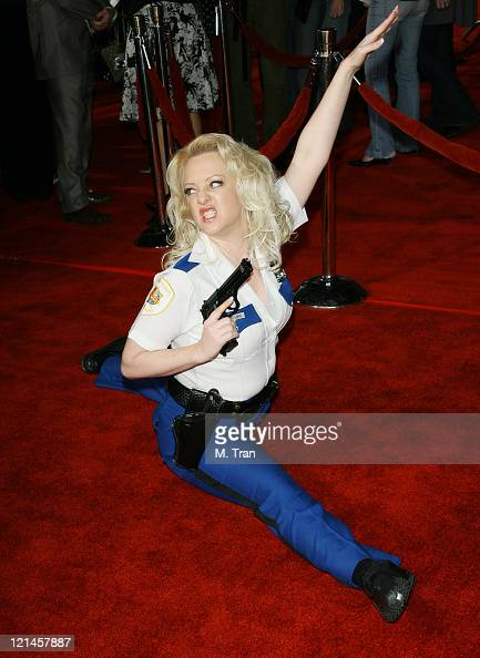 Wendi McLendonCovey during 'Reno 911 Miami' Los Angeles Premiere Arrivals at Grauman's Chinese Theater in Hollywood California United States