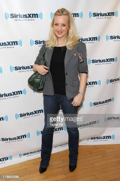Wendi McLendonCovey of 'Bridesmaids' visits SiriusXM Studio on May 10 2011 in New York City