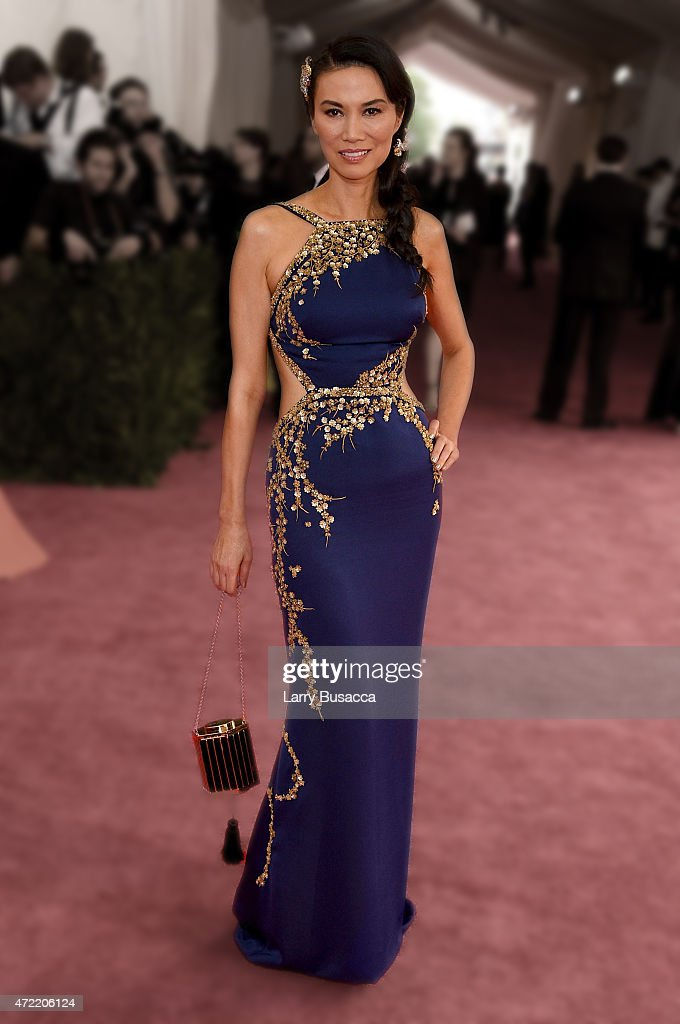 Wendi Murdoch attends the 'China: Through The Looking Glass' Costume Institute Benefit Gala at the Metropolitan Museum of Art on May 4, 2015 in New York City.