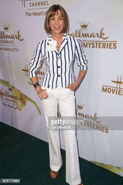 Wendie Malick attends the 2017 Summer TCA TourHallmark Channel And Hallmark Movies And Mysteries at a private residence on July 27 2017 in Beverly...