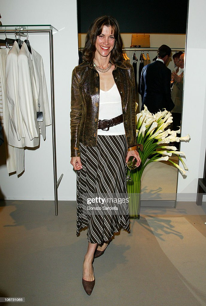 Wendie Malick during Cerruti and David Cardona Co-Host Private Party to Celebrate the Opening of Cerruti Beverly Hills Benefiting OPCC at Cerruti Store in Beverly Hills, California, United States.