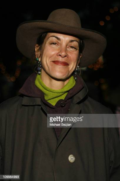 Wendie Malick during New Year's 2006 in Los Angeles 2006 Resolution for Peace at Third Street Promenade in Santa Monica California United States