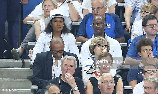 Wendie Renard attends the UEFA Euro 2016 final between Portugal and France at Stade de France on July 10 2016 in SaintDenis near Paris France