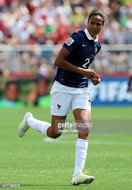 Wendie Renard of France during the FIFA Women's World Cup Group F match between France and Colombia at Moncton Stadium on June 13 2015 in Moncton New...
