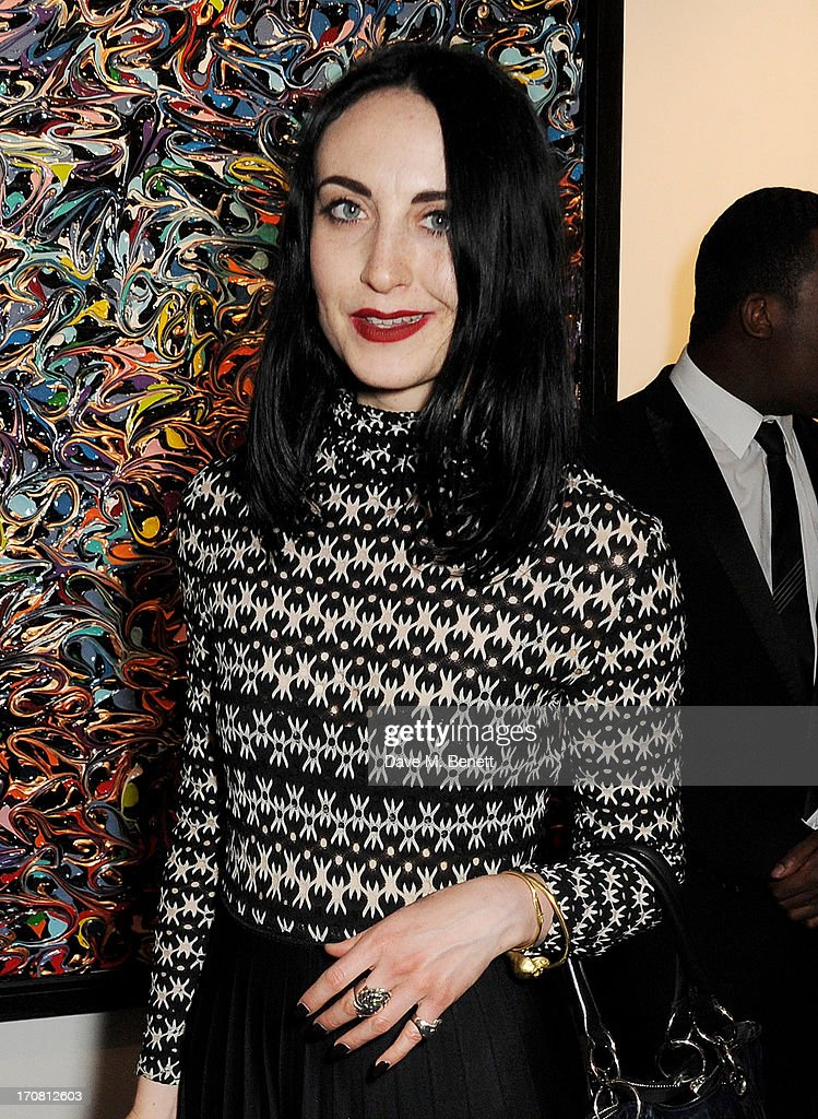 Wendy Bevan attends the Diversity In Care charity auction at Opera Gallery on June 18, 2013 in London, England.
