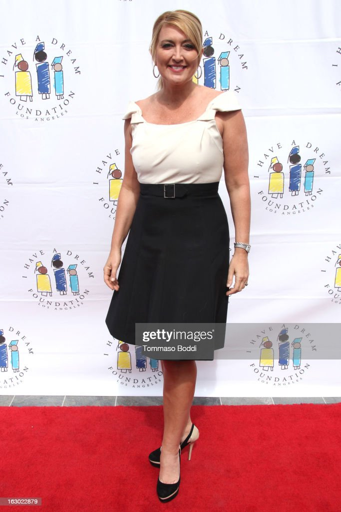 Wendy Burch attends the 'I Have A Dream' Foundation's 15th annual Los Angeles dreamer brunch held at the Skirball Cultural Center on March 3, 2013 in Los Angeles, California.