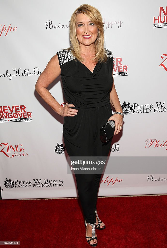 Wendy Burch attends The Maloof Foundation And Jacob's Peter W. Busch Family Foundation hosting a holiday toy donation For Children's Hospital on December 18, 2013 in Beverly Hills, California.