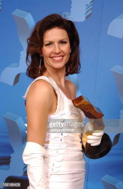 Wendy Crewson Best Actress during 2003 18th Annual Gemini Awards Press Room at Metro Toronto Convention Centre in Toronto Ontario Canada