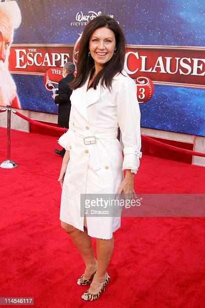 Wendy Crewson during 'The Santa Clause 3 The Escape Clause' Los Angeles Premiere Arrivals at El Capitan in Hollywood California United States