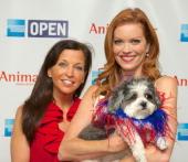 Wendy Diamond and CMT VJ Alecia Davis attend the AnimalFaircom Bark Breakfast Benefiting K9s For Warriors at the Loews Vanderbilt Hotel on July 24...