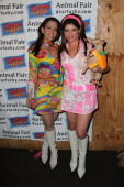 Wendy Diamond and Tamsen Fadal attend the 10th Annual Howloween Pet Costume Benefit at District 36 on October 27 2010 in New York City