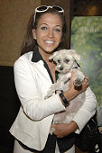Wendy Diamond Editor in Chief of Animal Fair Magazine with her Dog Lucky