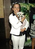 Wendy Diamond EditorInChief of 'Animal Fair' and her dog Lucky