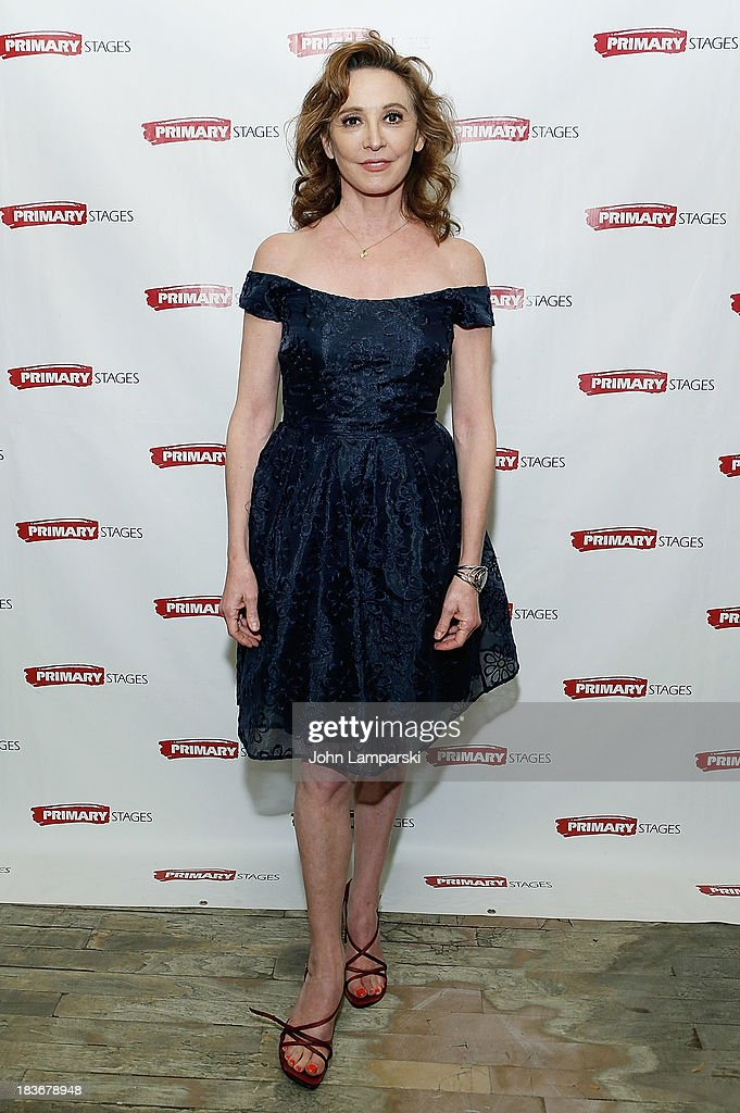 Wendy Makkena attends 'Bronx Bombers' Opening Night - After Party at West Bank Cafe on October 8, 2013 in New York City.