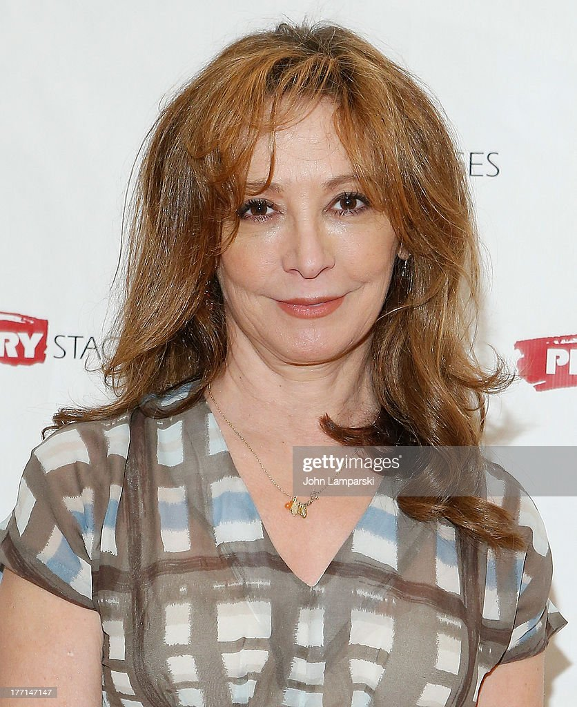 Wendy Makkena attends the cast meet and greet for the upcoming Off-Broadway production 'Bronx Bombers' at Playwrights Horizons Rehearsal Studios on August 21, 2013 in New York City.
