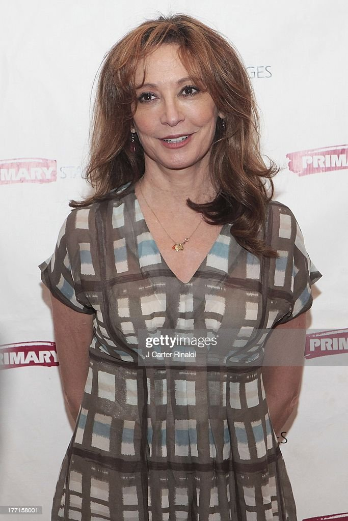 Wendy Makkenna attends the cast meet and greet for the upcoming Off-Broadway production 'Bronx Bombers' at Playwrights Horizons Rehearsal Studios on August 21, 2013 in New York City.