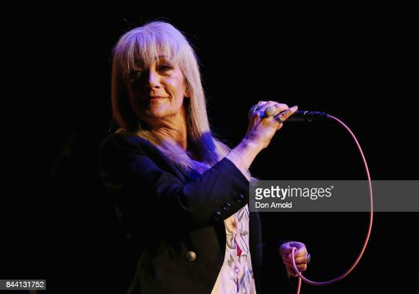 Wendy Matthews performs at Enmore Theatre on September 8 2017 in Sydney Australia
