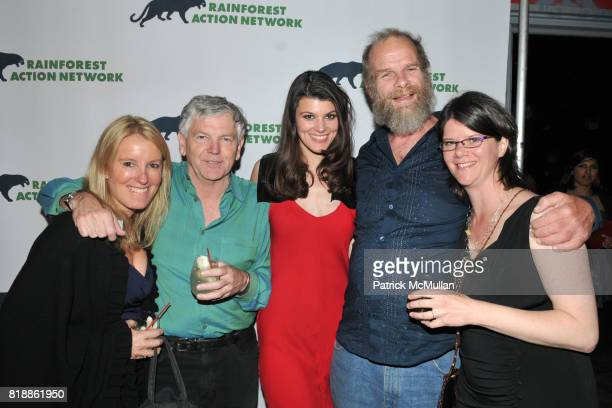 Wendy McCuaig Randy Hayes Summer Rayne Oakes Mike Roselle and Jennifer Krill attend RAINFOREST ACTION NETWORK's 25th Anniversary Benefit Hosted by...