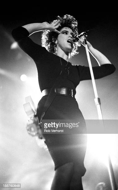 Wendy Melvoin performs on stage with Prince and The Revolution at Ahoy Rotterdam Netherlands 17th August 1986