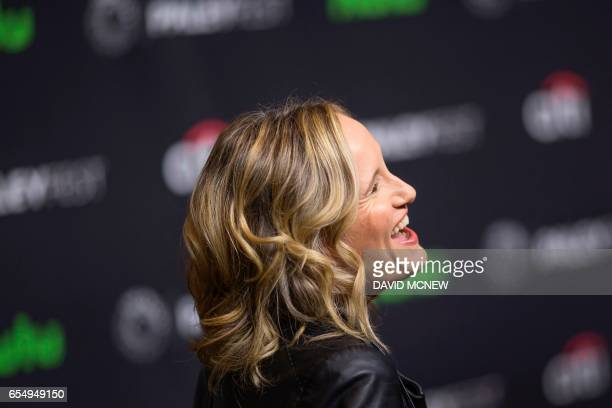 Wendy Mericle attends PaleyFest LA at the Dolby Theatre on March 18 2017 in the Hollywood section of Los Angeles California / AFP PHOTO / DAVID MCNEW