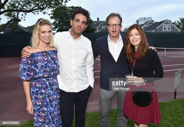 Wendy Neale Merry Bobby Cannavale Tom McCarthy and Dana Delany attend the Screenwriters Tribute during the 2017 Nantucket Film Festival Day 3 on June...