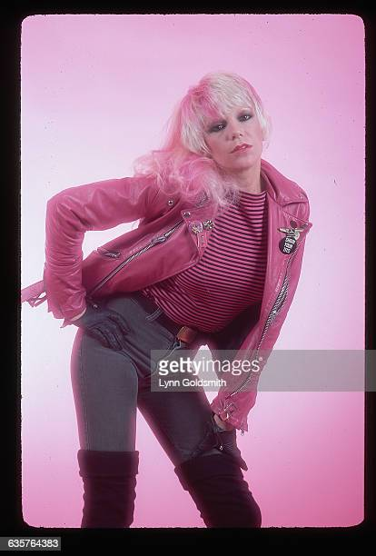 Wendy O Williams of the punk rock group the Plasmatics is infamous for her outrageous and semipornographic performances