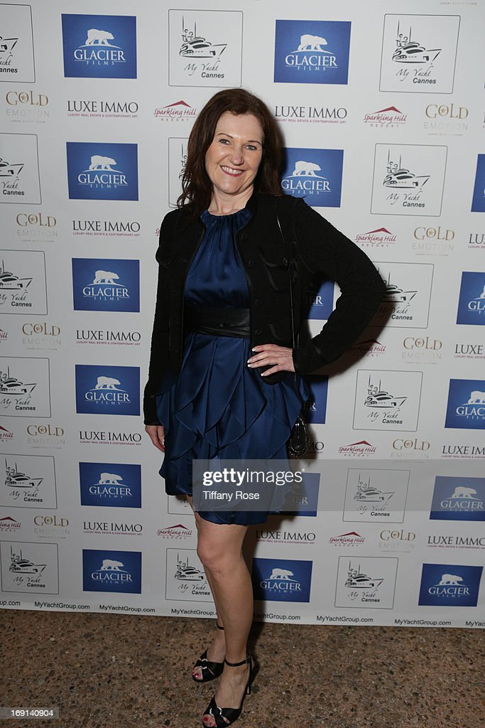 Wendy Patriquin of Sparkling Hill Resort attends My Yacht Party sponsored by Sparkling Hill Resort on May 19, 2013 in Cannes, France.