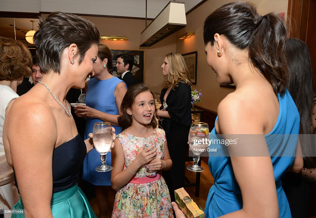 Reyes, her daughter greet Freida Pinto at the Changemaker Cocktail ...