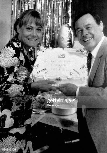 Wendy Richard and Bill Treacher BBC's 'Eastenders' Pauline and Arthur are set for a party to remember when they celebrate their silver wedding...
