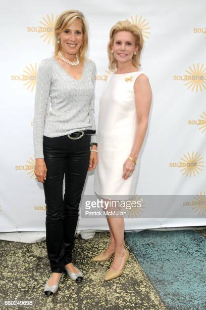 Wendy Sarasohn and Susan Nagel attend SOLAR 1's Revelry By The River Honors MATTHEW MODINE KICK KENNEDY HSBC at Stuyvesant Cove on June 2 2009 in New...