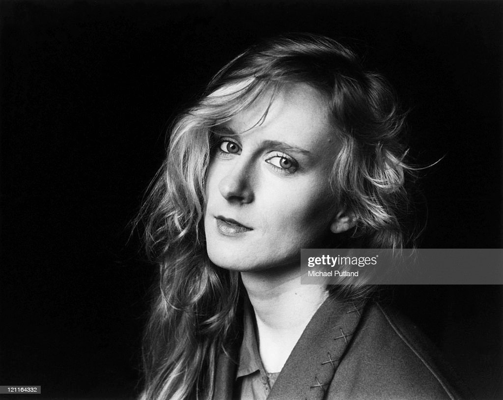 Wendy Smith, Prefab Sprout, studio portrait, London, circa 1985.