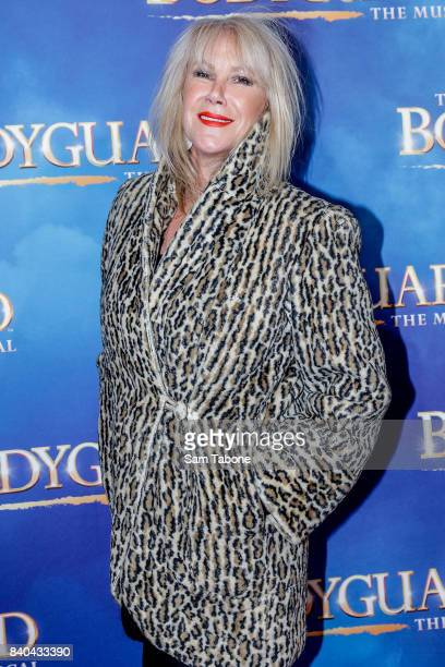 Wendy Stapleton during a production media call for The Bodyguard at Regent Theatre on August 29 2017 in Melbourne Australia