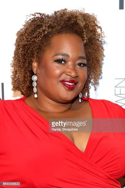 Wendy Staton arrives to Chaz Dean winter party 2017 benefiting Love is Louder on December 9 2017 in Los Angeles California