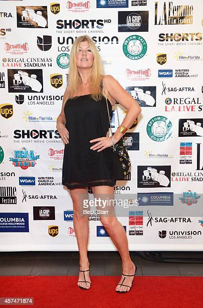 Wendy Thomas arrives The 10th Annual LA Femme International Film Festival special screening of 'The Ninth Cloud' at Regal Cinemas LA Live on October...