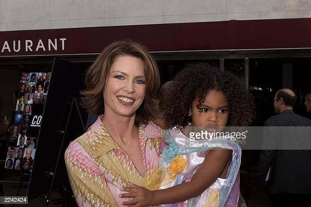 Wendy Walsh Court TV anchor of Hollywood Report and daughter at the Court TV celebration of it's 10th anniversary at American Park inside Battery...
