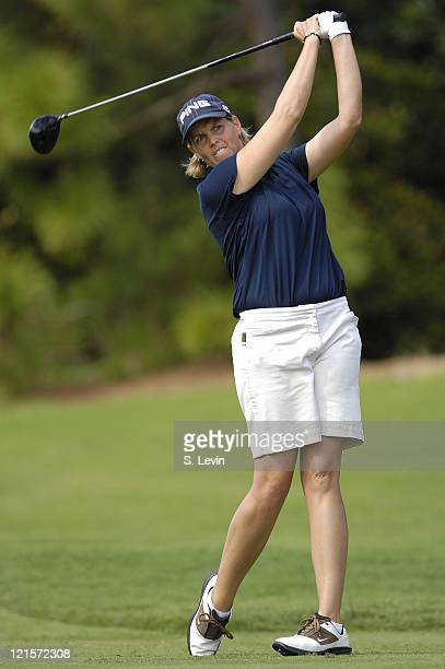 Wendy Ward during the second round of the ADT Championship at the Trump International Golf Club in West Palm Beach Florida on Friday November 17 2006