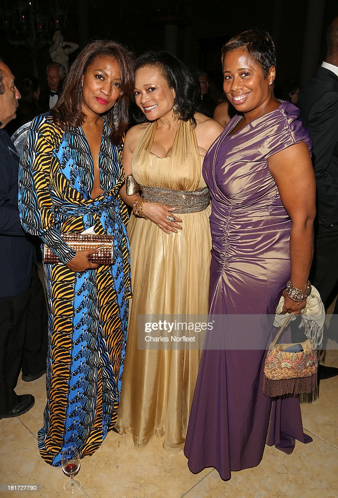 Wendy Washington, Kenetta Bailey-Hayes and Caroline Robinson attend 2013 Multicultural Gala: An Evening Of Many Cultures at Metropolitan Museum of Art on September 23, 2013 in New York City.