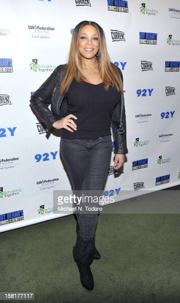 Wendy Williams attends A Special Night Of Comedy Benefiting Victims Of Hurricane Sandy at 92nd Street Y on December 10 2012 in New York City